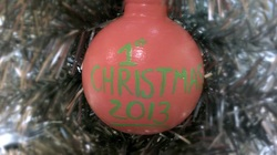 Ceramic First Christmas Baby Ornament