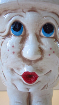 Ceramic Teen Girl Planter