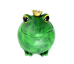 Ceramic Prince Charming Frog