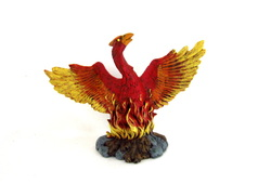 CERAMIC PHEONIX REBORN FROM THE FLAMES